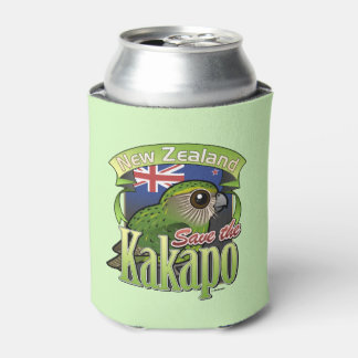 Ahorre el Kakapo de Nueva Zelanda Enfriador De Latas