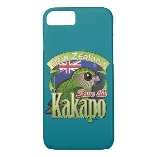 Ahorre el Kakapo de Nueva Zelanda Funda iPhone 7