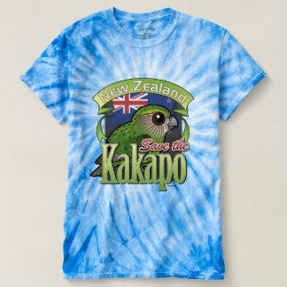Ahorre el Kakapo de Nueva Zelanda Playera