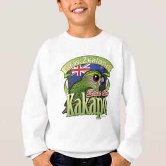 Ahorre el Kakapo de Nueva Zelanda Sudadera