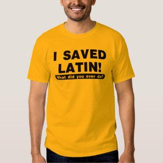 ahorré el latín polera