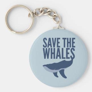Ahorre el llavero de las ballenas