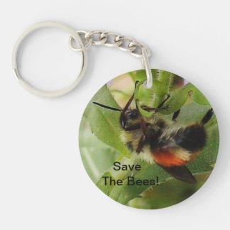 Ahorre el llavero macro de la foto de las abejas 2