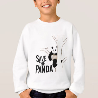 Ahorre el oso de panda sudadera