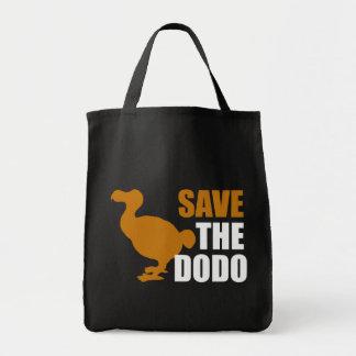 ¡Ahorre el pájaro del Dodo! Bolsas De Mano
