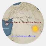 Ahorre el pasado para proteger al pegatina futuro