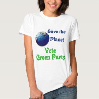 Ahorre el planeta #2 camisas