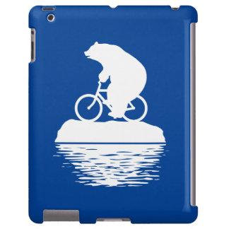 Ahorre el planeta: Caso del iPad de la bicicleta