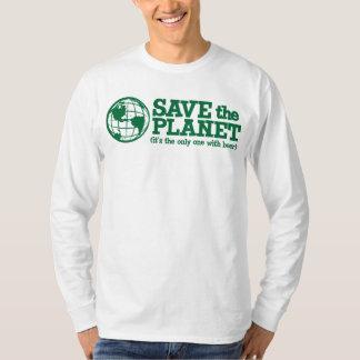 ahorre el planeta - es el único con la cerveza playera