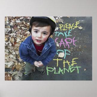 Ahorre el planeta poster