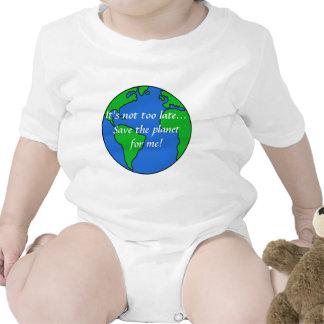 Ahorre el planeta camisetas