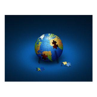 Ahorre el planeta postales