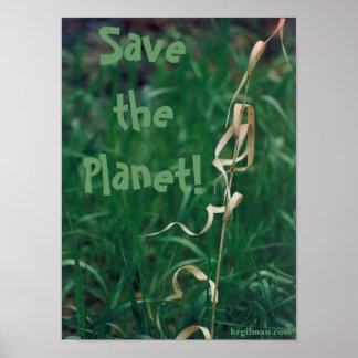 ¡Ahorre el planeta! Poster