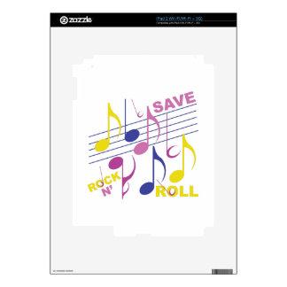 Ahorre el rollo de la roca N Skins Para iPad 2