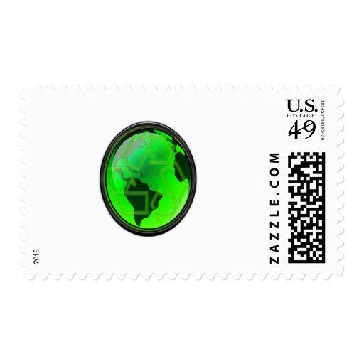Ahorre el Tierra-Reciclaje-GoGreen Sellos