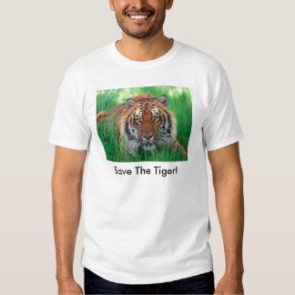 ¡Ahorre el tigre! Polera