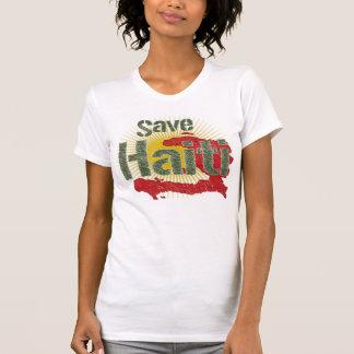 Ahorre Haití (verde) - ingresos van a la CRUZ ROJA Tee Shirts