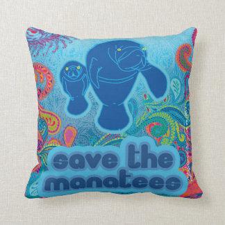 Ahorre la almohada de los Manatees