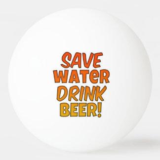 Ahorre la bola de Pong de la cerveza de la bebida Pelota De Tenis De Mesa