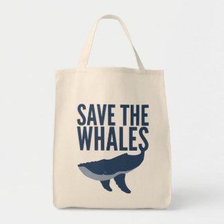 Ahorre la bolsa de asas de las ballenas