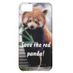 Ahorre la caja del iPhone de la panda roja