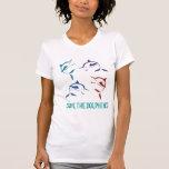 Ahorre la camisa de los delfínes