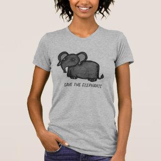 Ahorre la camisa de los elefantes