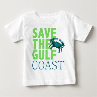 Ahorre la camisa del bebé de la Costa del Golfo