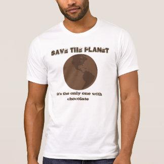 Ahorre la camisa del planeta
