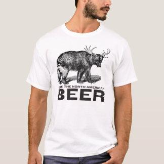 Ahorre la camisa norteamericana de la cerveza