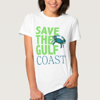 Ahorre la camisa para mujer de la Costa del Golfo