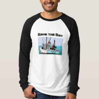 Ahorre la camiseta de la bahía