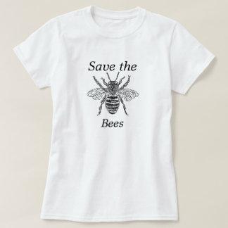 Ahorre la camiseta de las abejas