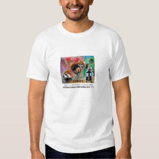 """""""Ahorre la camiseta de los hombres de la panda Playera"""