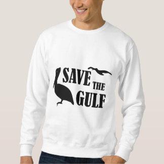 Ahorre la camiseta para hombre del golfo sudadera