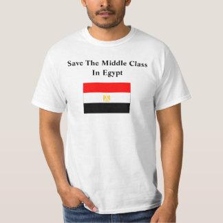 Ahorre la clase media en Egipto Poleras
