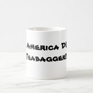 ¡Ahorre la CLAVADA de AMÉRICA el TEAPARTY!  esos Taza De Café