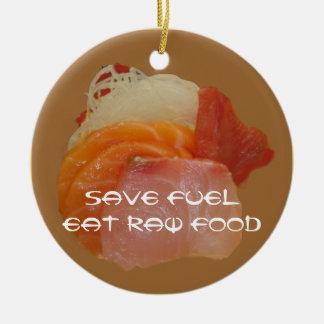 Ahorre la comida cruda del ~Eat del combustible Ornamentos De Reyes