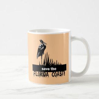 Ahorre la costa de la Florida Tazas