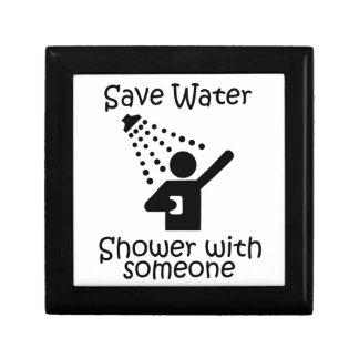 Ahorre la ducha del agua con el somene cajas de regalo