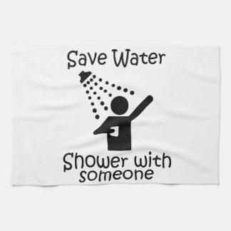 Ahorre la ducha del agua con el somene toallas de mano