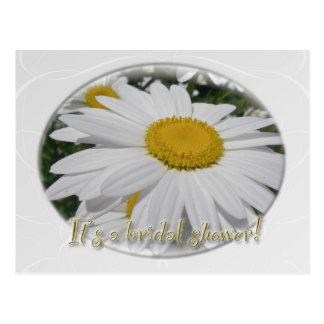 Ahorre la ducha nupcial del Wildflower de la marga Postales