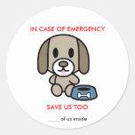 Ahorre la emergencia del perro