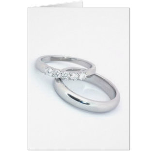 Ahorre la fecha a las alianzas de boda de plata tarjeta