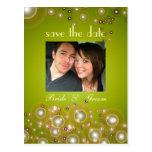 Ahorre la fecha, casando las postales de la foto