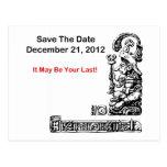 Ahorre la fecha, el 21 de diciembre de 2012 - la a postales