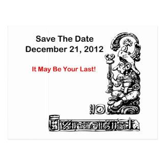 Ahorre la fecha, el 21 de diciembre de 2012 - la tarjetas postales