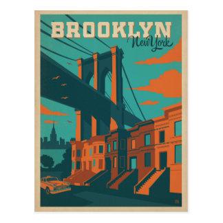 Ahorre la fecha el | Brooklyn, NY Tarjetas Postales