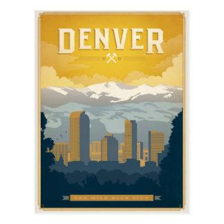 Ahorre la fecha el | Denver, CO Tarjeta Postal