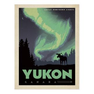 Ahorre la fecha el | el Yukón, Canadá 2 Tarjetas Postales